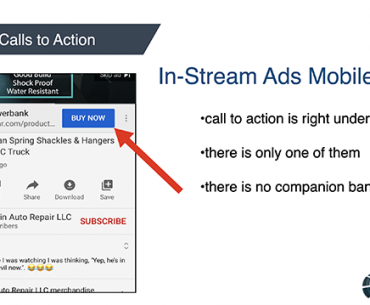 Mobile Call to Action YouTube