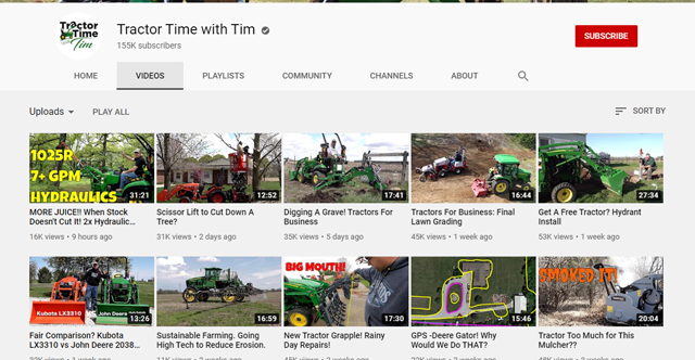 If you were trying to sell to someone interested in John Deere tractors, you could use placement targeting to place your ad on YouTube channels with videos about John Deere tractors.