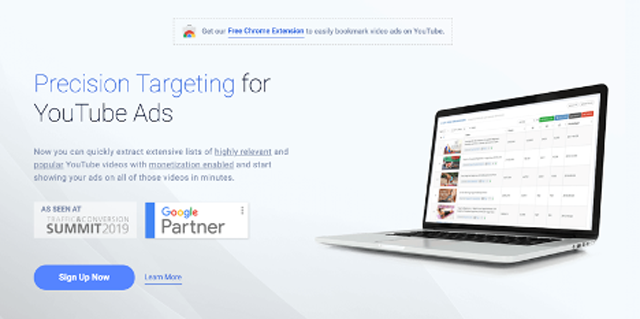 TubeSift finds extensive lists of popular monetized YouTube videos to run your ads on in just minutes.
