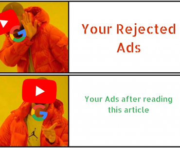 Read this article to avoid getting rejected ads on YouTube.