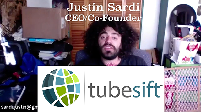 Justin Sardi, CEO and Co-Founder of TubeSift.com discusses YouTube advertising with Brian Moncada, Founder of Adspend.com.