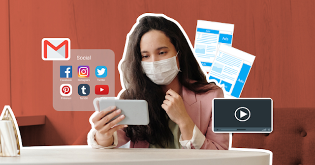 The pandemic impacted the amount of video content people watched online.