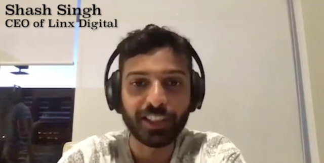 CEO of Linx Digital, Shash Singh, discusses using YouTube advertising for E-Commerce products.