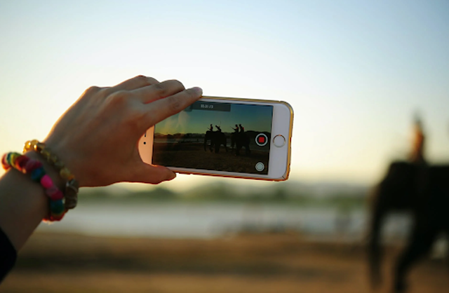 Video making is one of the biggest sources of income on Youtube. Image: Person Taking Photo of Elephants, by Teono123 No, licensed under Pexels.